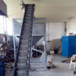 Линии за производство на пелети - бункери и транспортьори